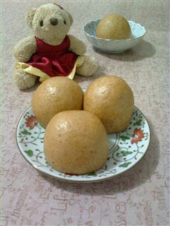 红糖小麦胚芽馒头