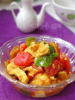 麻辣西红柿炒鸡蛋