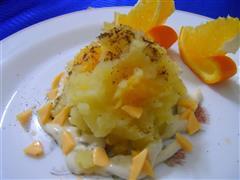 橙肉土豆泥沙拉
