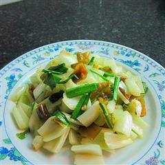 酸辣白菜茎