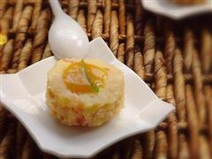 咖喱火腿土豆泥