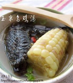 玉米乌鸡汤
