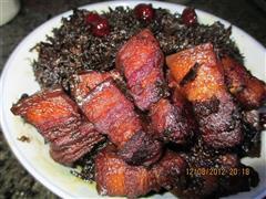 霉干菜红烧肉