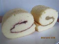 双味戚风蛋糕卷