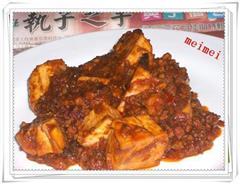 肉末麻辣豆腐