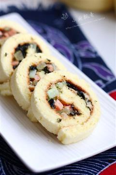 寿司蛋糕卷