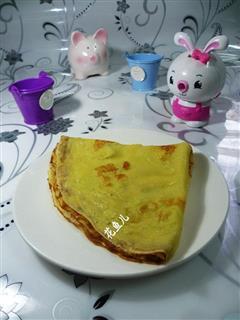 奶香鸡蛋饼