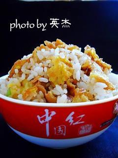 葱油蛋炒饭