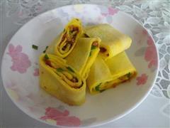 咖喱鸡蛋饼