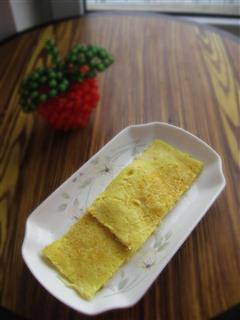 姜菜鸡蛋饼