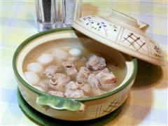 樱桃萝卜排骨汤