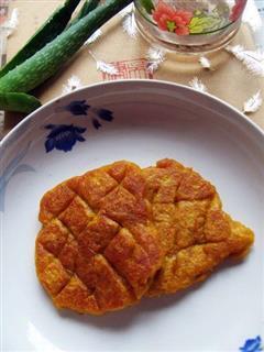 格子南瓜饼