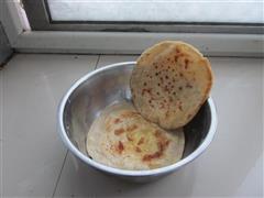豆渣鸡蛋灌饼