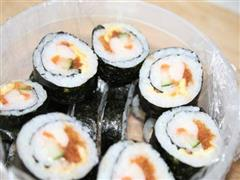 什锦蟹棒寿司