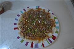 榨菜肉丝土豆泥