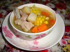 红萝卜马蹄排骨汤