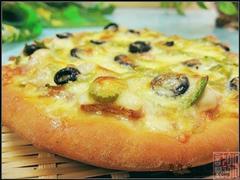 培根橄榄披萨