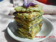 紫藤花煎饼