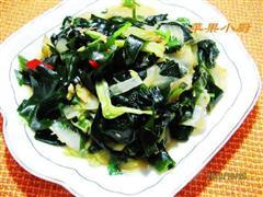 海带辣白菜