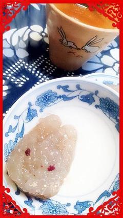 透明冰皮月饼