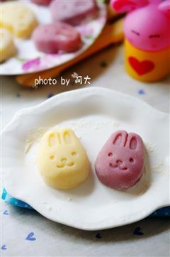 小兔冰皮月饼