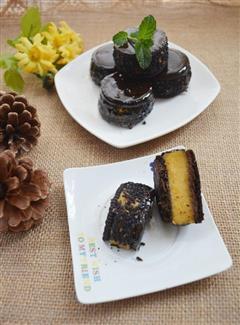 琥珀巧克力南瓜饼