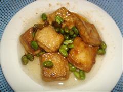 毛豆臭豆腐