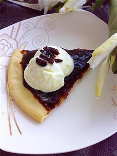 蔓越莓雪糕披萨