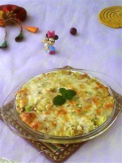焗火腿土豆泥