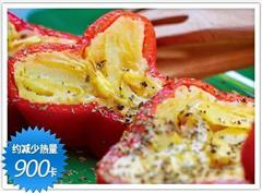 辣椒卷土都鸡蛋饼