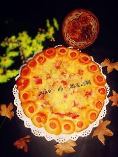 培根花边披萨
