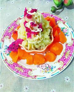 土豆泥水果沙拉