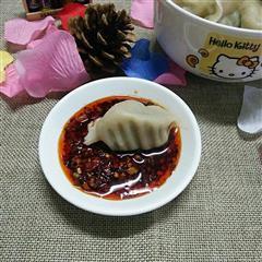韭菜猪肉陷饺子