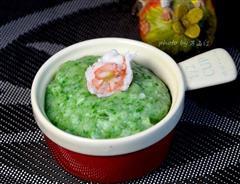 鲜虾翡翠土豆泥