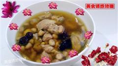 花生黄豆排骨汤