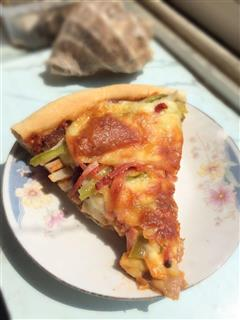 豪华双拼披萨