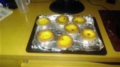 椰蓉牛奶蜂蜜蛋挞