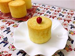 四寸戚风蛋糕