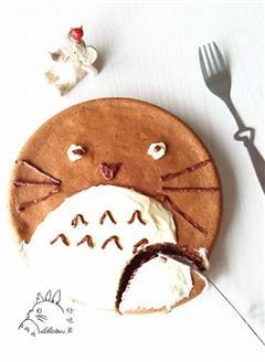 龙猫戚风蛋糕