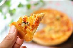 鸡肉丁蔬菜披萨
