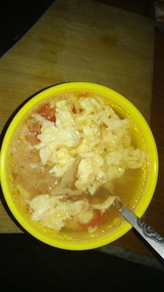 西红柿鸡蛋银耳汤
