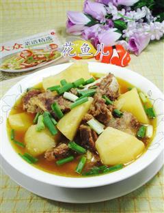 土豆牛排骨汤