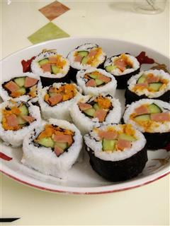 手把手学会做内外卷寿司