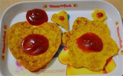南瓜胡萝卜西葫鸡蛋饼