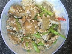 臭豆腐炒辣椒