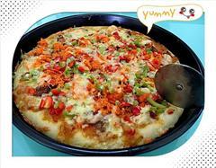 海陆汇三拼披萨