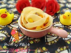 大爱玫瑰饺子