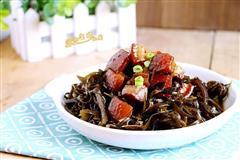 红烧肉炖海带