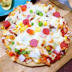 空气炸锅烤披萨