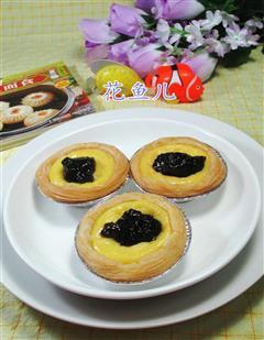 蓝莓全蛋蛋挞